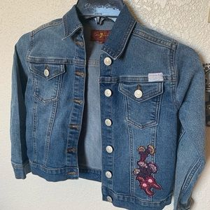 7 For All Mankind Jean jackets girls